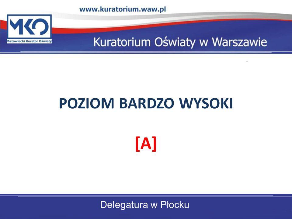 POZIOM BARDZO WYSOKI [A]